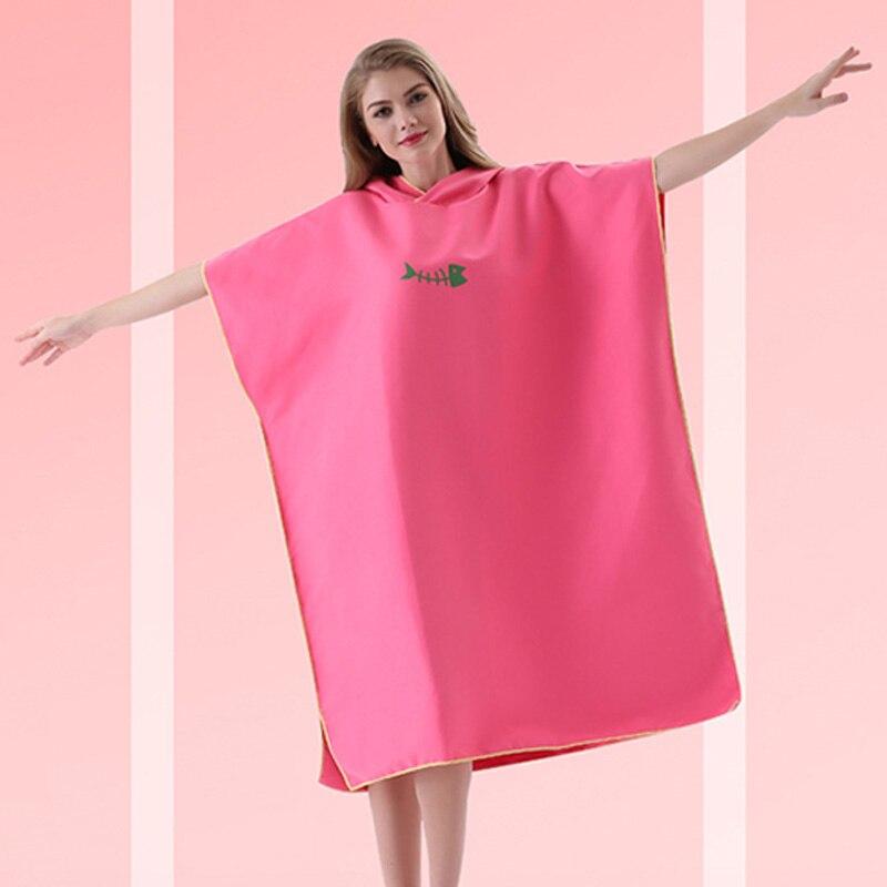 toalha de praia poncho feminino roupão de banho toalhas maiô manto