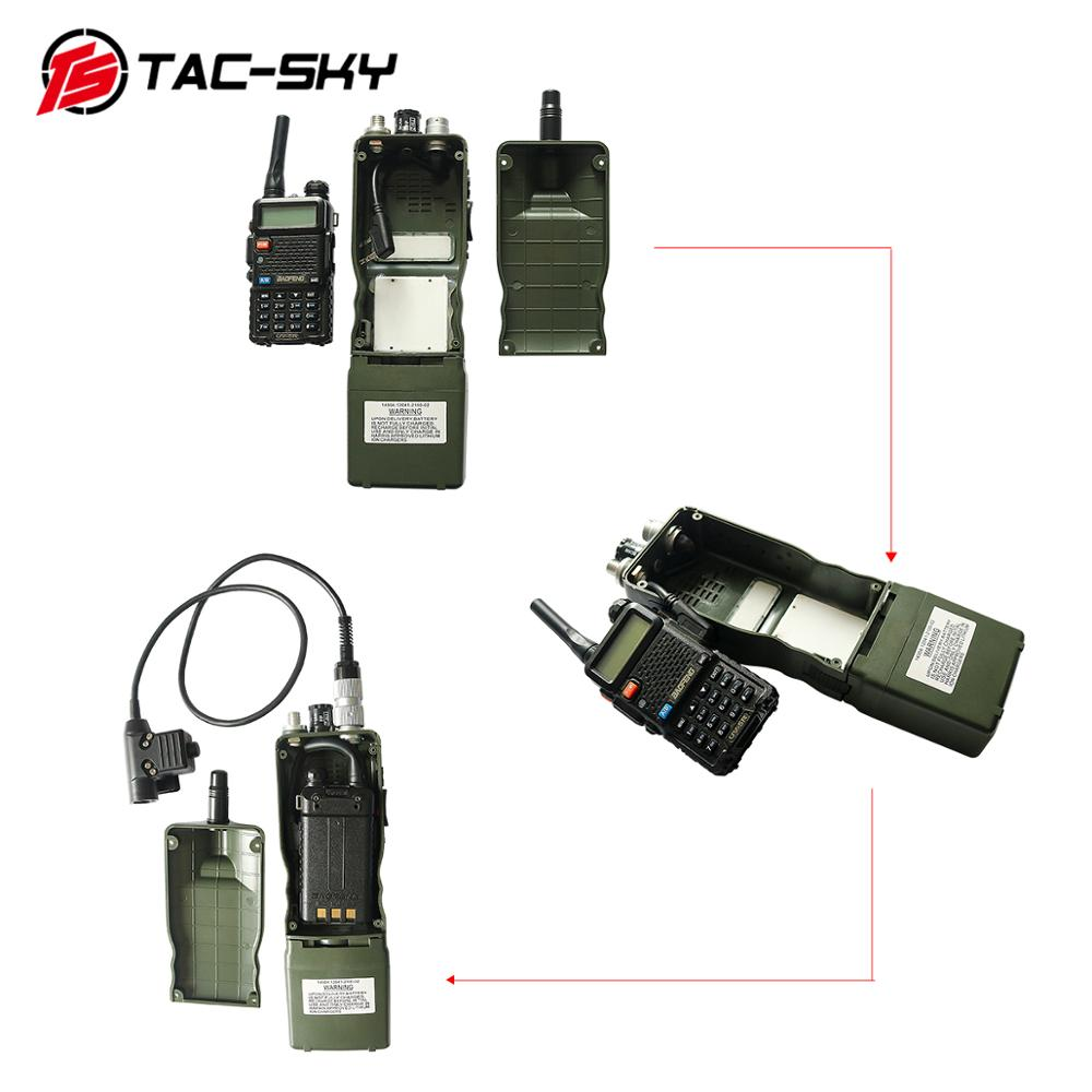 Image 5 - TAC SKY HARRIE AN / PRC 152  Dummy Radio box, Baofeng military walkie talkie model, military radio Harris virtual case PRC152A-in Walkie Talkie Parts & Accessories from Cellphones & Telecommunications