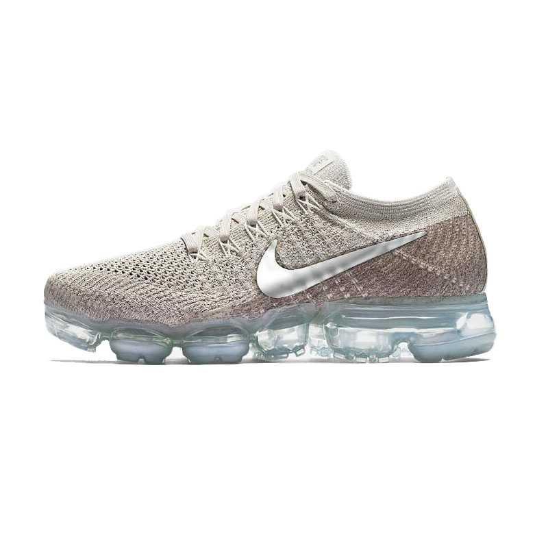 Оригинальные подлинные мужские кроссовки для бега Nike Air VaporMax Be True Flyknit, легкие дышащие и прочные спортивные кроссовки 849558