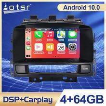 Android 10.0 PX5/PX6รถนำทาง GPS สำหรับ Opel Astra J 2010 2013รถวิทยุสเตอริโอ head Unit เครื่องเล่นมัลติมีเดีย DSP
