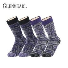 4 Pairs Pack Merino Wool Women Socks Hosiery