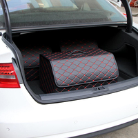 Car Accessories Trunk Bag Folding car Storage Bag Organizer Box AUTO Trash Tool Bag Keep Trunk Tiduing