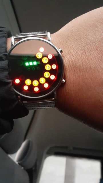 Lumière LED hommes montre-bracelet en acier inoxydable mode pour spécial charmant Style en gros reloj depotivo hombre