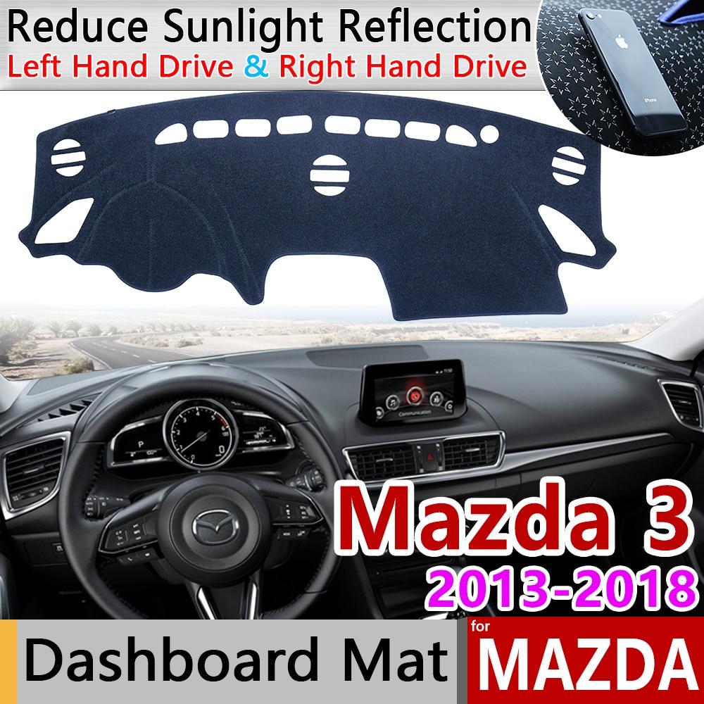 For Mazda 3 BM BN 2013~2018 Axela Anti-Slip Mat Dashboard Cover Pad Sunshade Dashmat Car Accessories Mazda3 MK3 2015 2016 2017