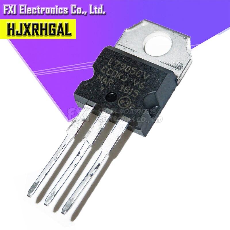 10PCS L7905CV L7905 TO-220 TO220 7905 LM7905 MC7905 New Original