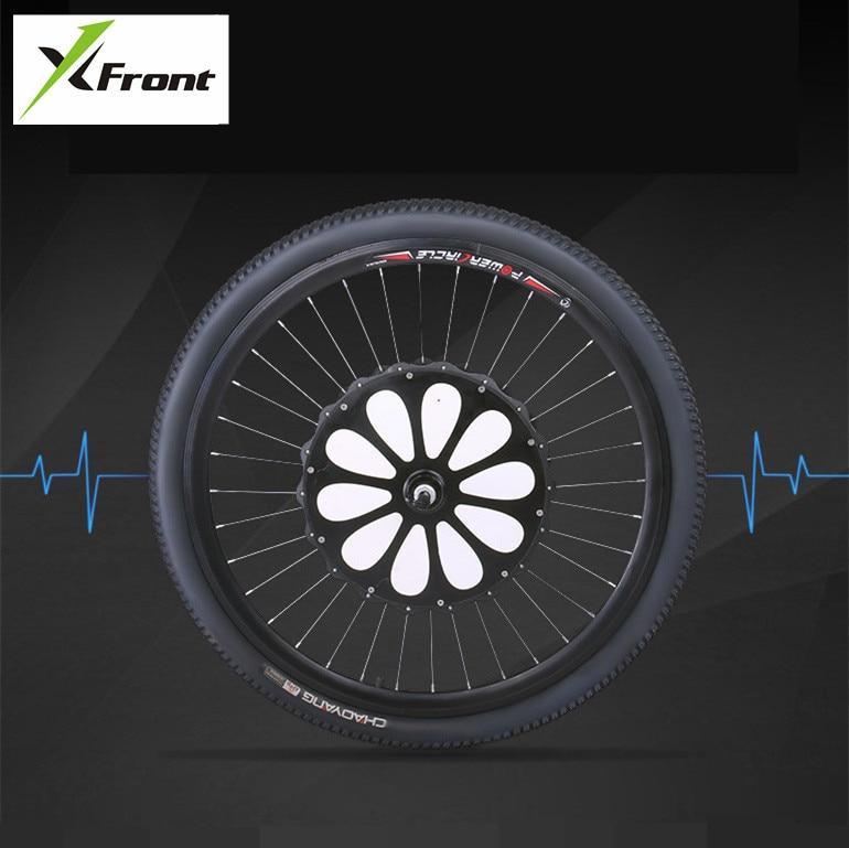 Originele X Front brand Intelligente power elektrische fiets bluetooth smart wheel motor sluit telefoon mountain downhill ebike