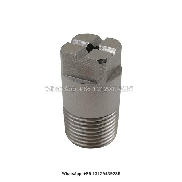 HH-SQ pełny stożek dyszy kwadratowy pełny stożek stożkowa dysza natryskowa Hh solidny stożek dyszy kwadratowy pełny stożek opryskiwacz tanie i dobre opinie CN (pochodzenie) Pompy Metal STAINLESS STEEL Opryskiwacze ShenZheng China HH-SQ Series Wide Angle Solid Cone Spray Nozzle