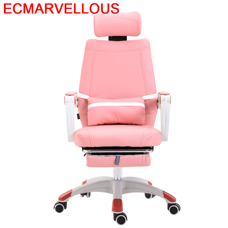 Ordenador Escritorio Cadir Bureau Sedie Girl De Office Furniture Oficina Leather Computer Poltrona Cadeira Silla Gaming Chair
