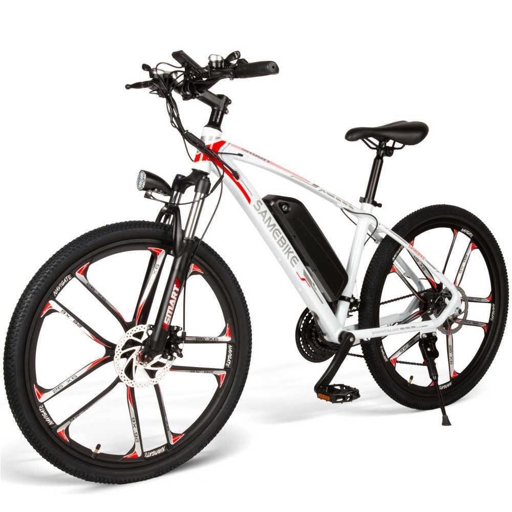 Bicicleta eléctrica de 26 pulgadas, asistencia eléctrica, bicicleta eléctrica, ciclomotor de 350W