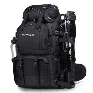 Image 2 - Novagear 80302 ダブルショルダーカメラバッグ耐震性の防水屋外大容量一眼レフカメラバッグ