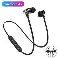 XT11-auriculares magnéticos inalámbricos por Bluetooth, cascos de música con banda para el cuello para teléfono, deportivos con micrófono para iPhone, Samsung y Xiaomi