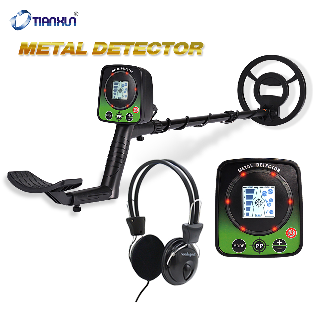 Pinpointer LCD Display Metal Detector Underground Search Gold Finder Professional Detector Treasure Hunter Finder MD-5031
