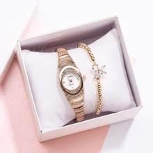 Lvpai – montre de luxe pour femmes, en acier inoxydable 2020, décontractée, à la mode