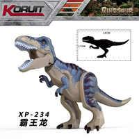 Brutal Raptor Gebäude Legoinglys Jurassic Blöcke Welt 2 Mini Dinosaurier Zahlen Bricks Dino Spielzeug Für Kinder Dinosaurios