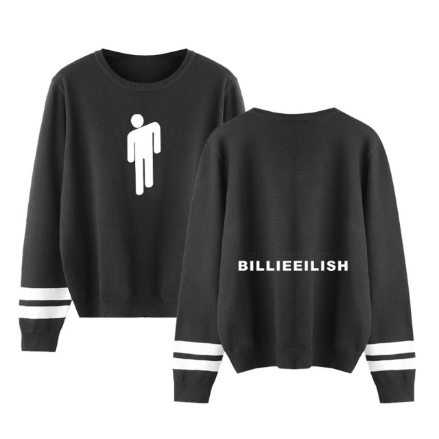 BILLIE EILISH STRIPED SWEATSHIRT (25 VARIAN)