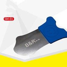 B & r Ультра тонкий инструмент из нержавеющей стали для iphone