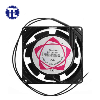 1 PC 8025 AC Cooling Fan SF8025AT 2082HSL 8025 80mm Sleeve Bearing 220-240V AC 2-Wire Case Cooling Fan 1 piece 80mm 8025 80x80x25mm cooling fan 5v 12v 24v dc brushless cooling cooler fan 8025 sleeve