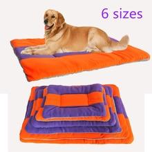 Soft Durable Pet Nest Dog Bed Cat House Fleece Mat Winter Ultra Warm Sleeping Kennel Sofa For Small Puppy Medium Large Dogs