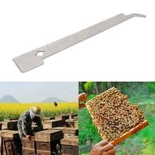 Небольшой J крючок для улья скребок из нержавеющей стали улей Пчеловодство инструменты пчеловод принадлежности для пчеловода