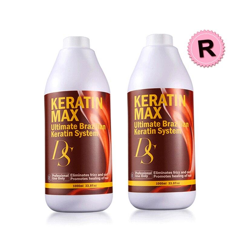 diferente estilo ds max 12 formalina 2pcs queratina tratamento do cabelo endireitar e reparar resistente cruly