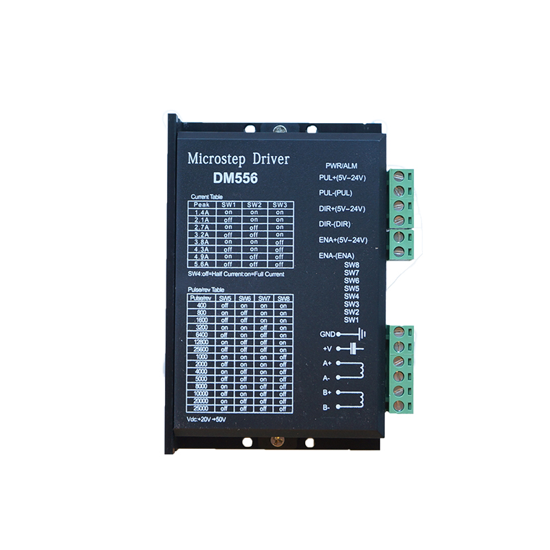 57/86 Stepper Motor Driver 256 Subdivision 24-50VDC 4.5A High Speed Low Noise DM556