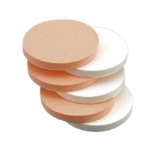 RISE- 6 x Round Makeup Face Blender Foundation Sponge Puff Pad(China)