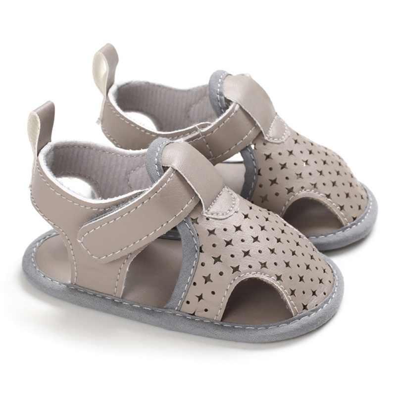 2020 Merk Peuter Pasgeboren Baby Jongen Meisje Sandalen Zachte Tong Schoenen Lederen Sandalen Prewalker Zomer Baby Schoenen 0-18M