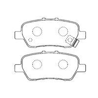 AKEBONO pads brake disc rear FIT FOR Honda Odyssey (RB), Elysion, stream (08 ), Crossroad AN 698WK
