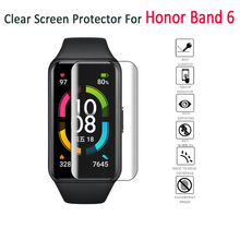 Screen-Protector Honor Band Huawei Protective-Glass for 6 Clear Hydrogel-Film 1pc Soft