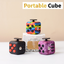 Popular Cube Toy Dice Decompression Color Children Educational Toy Adult Anti-stress Finger Sports Exercise Dice