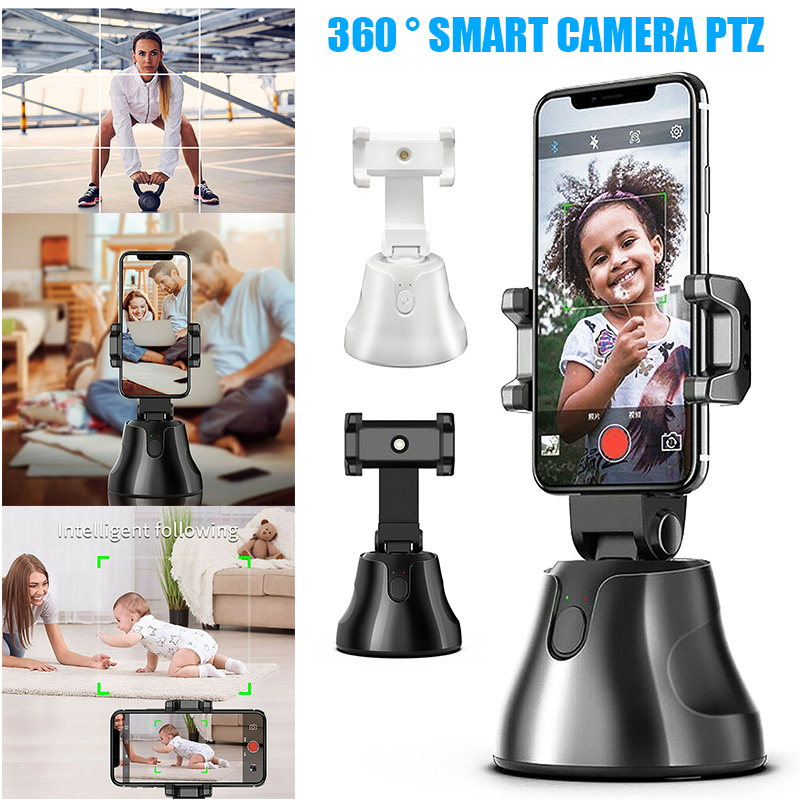 Auto Tracking Smart Shooting Holder 360degree Rotation Cell Phone Holder For Video Reocording OCT998