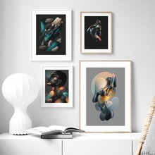 Modern Nude Abstract The Body Art Wall Canvas Painting Nordic Posters And Prints Pictures For Living Room Decor