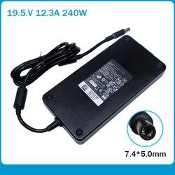 Ультра-тонкий 240W 19,5 V 12.3A PA-9E Ноутбук ac адаптер питания подзарядка для Dell Alienware M17X R2 R3 R4 R5 17D-1848 M18X R3 GA240PE1-