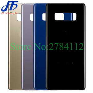 """Image 1 - 10Pcs 6.3"""" Back Glass Replacement For Samsung Galaxy Note8 Note 8 N950 Battery Cover Rear Door Housing Case 6 Colour + Sticker"""