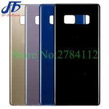 """10Pcs 6.3 """"Posteriore di Vetro di Ricambio Per Samsung Galaxy Note8 Nota 8 N950 Coperchio Della Batteria Alloggiamento Posteriore Porta Posteriore di Caso 6 colore + Adesivo"""