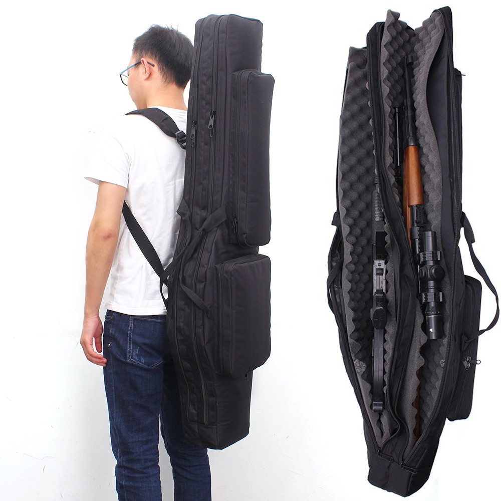 120CM Tactical Gun Bag Fifle Bags Hunting Backpack Military Carbine Holster Shooting Case CS Multifunctional Bag For Fishing