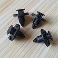 20 шт. 8 мм отверстие для автомобиля брызговика бампера специальные нейлоновые заклепки застежки боковые юбки автомобильные зажимы для Nissan ...