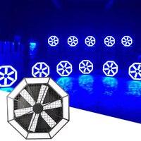200W LED Pixel Cyclone Light RDM led Music Party RGB Running Horse Light Disco DJ Wash luce stroboscopica per matrimonio natale KTV