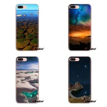 Beautiful Russia lake Baikal For Samsung Galaxy S3 S4 S5 Mini S6 S7 Edge S8 S9 S10 Plus Note 3 4 5 8 9 Silicone Phone Case Cover(China)