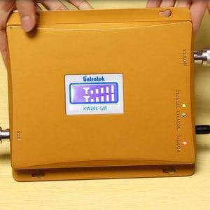 Image 5 - Lintratek 3G WCDMA 2100MHz GSM 900Mhz المزدوج الفرقة مكبر للصوت إشارة الهاتف المحمول الداعم GSM مكرر إشارة الجيل الثالث 3G 4G هوائيات + كابل