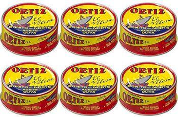 Ortiz Bonito del Norte - Tonno in Olio di Oliva 250 gr. - [Pack 6]