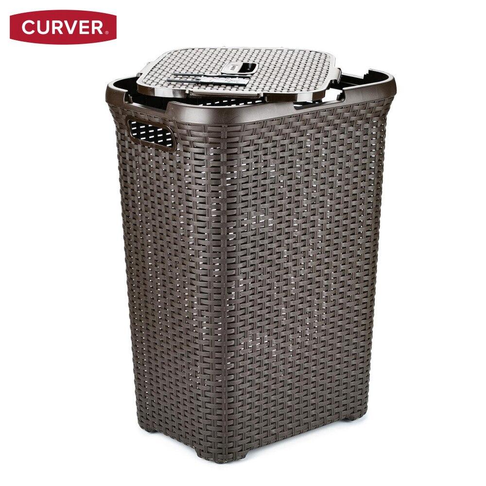 Laundry Baskets CURVER  Home Storage  Organization Laundry