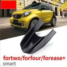 Caixa de armazenamento do centro do braço do carro para smart 453 fortwo forfour 2015-2019 recipiente luva organizador automático para acessórios do carro