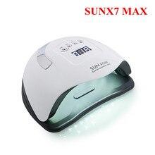 Secador de uñas con luz LED, lámpara UV para todo tipo de esmaltes de Gel, lámparas de autodetección, herramientas de manicura, 114W, 57 Uds.