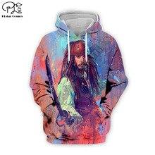 PLstar Cosmos Pirates of the Caribbean Johnny Depp 3D Printed Hoodie/Sweatshirt/Jacket/shirts Mens Womens hip hop  funny style-1