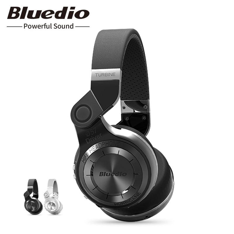 Bluetooth Earphone Headphone Bluedio T2 Clould Orginal Bluetooth Headset Stereo Wireless Headphones With  Microphone For  Redmi