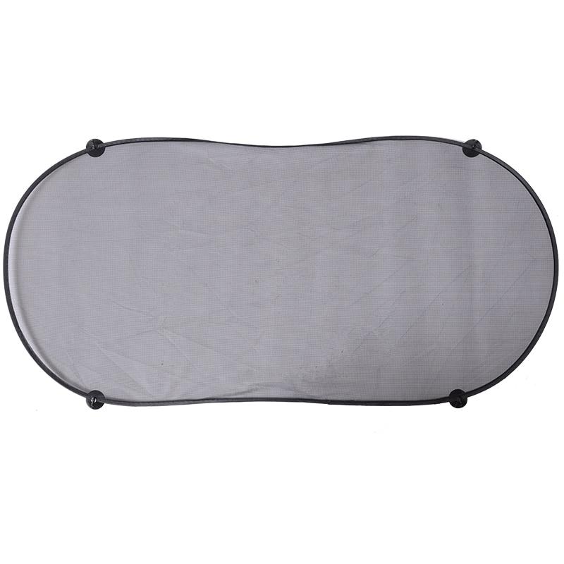 1pc Sun Visor Screen Sunshade Car Curtain Mesh Nylon Car Rear Window Sunshade 100x50cm With Powerful Suction Cup Automobile