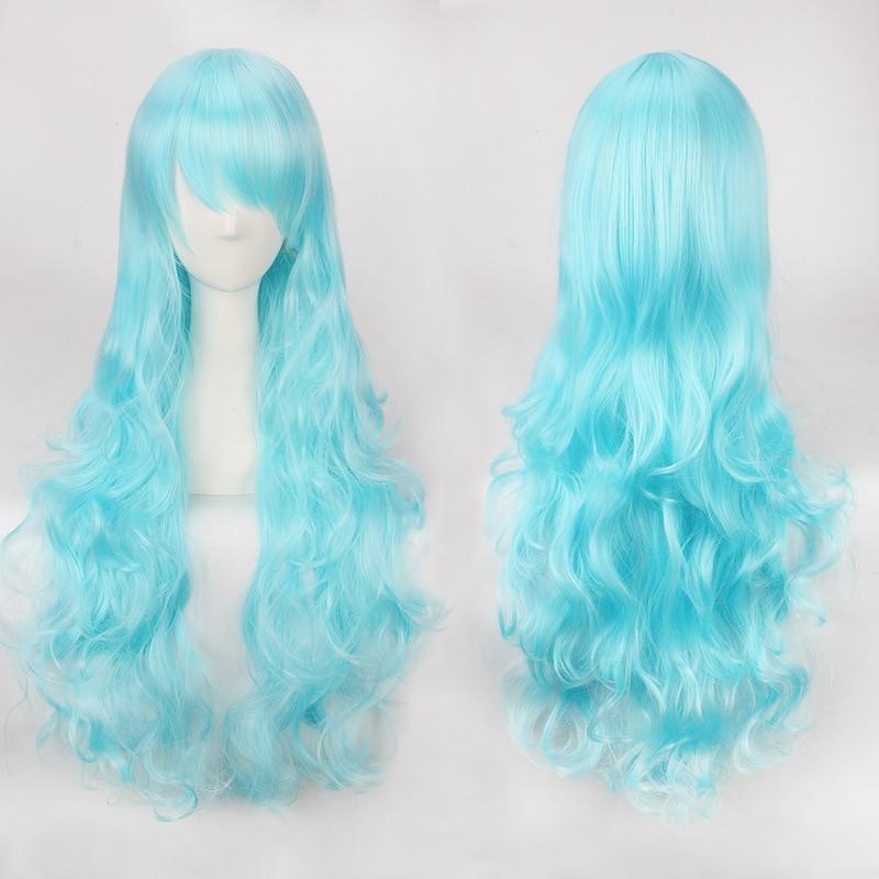 Long Multicolored Wig 6