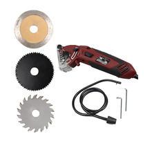 Портативная плитка 548 мм мини циркулярная пила мощный инструмент