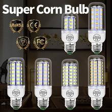 220V Spot лампы LED кукуруза лампа E27 Light E14 спальня лампа GU10 гостиная Bombilla G9 LED Light B22 свеча свет дом освещение